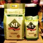 【N1 Naturel】粟米豆腐貓砂 - 綠茶味(17.5L)
