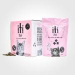 【iti】KITI脫水風乾雞肉+三文魚貓糧 200g/1kg